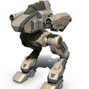 Bitwa Mech Fretka 3d model