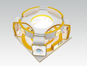 Booth Exhibition Stand a40 or 3d model