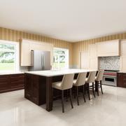 3Dキッチンブランコ 3d model