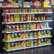 Showcase 021 Crisps 3d model