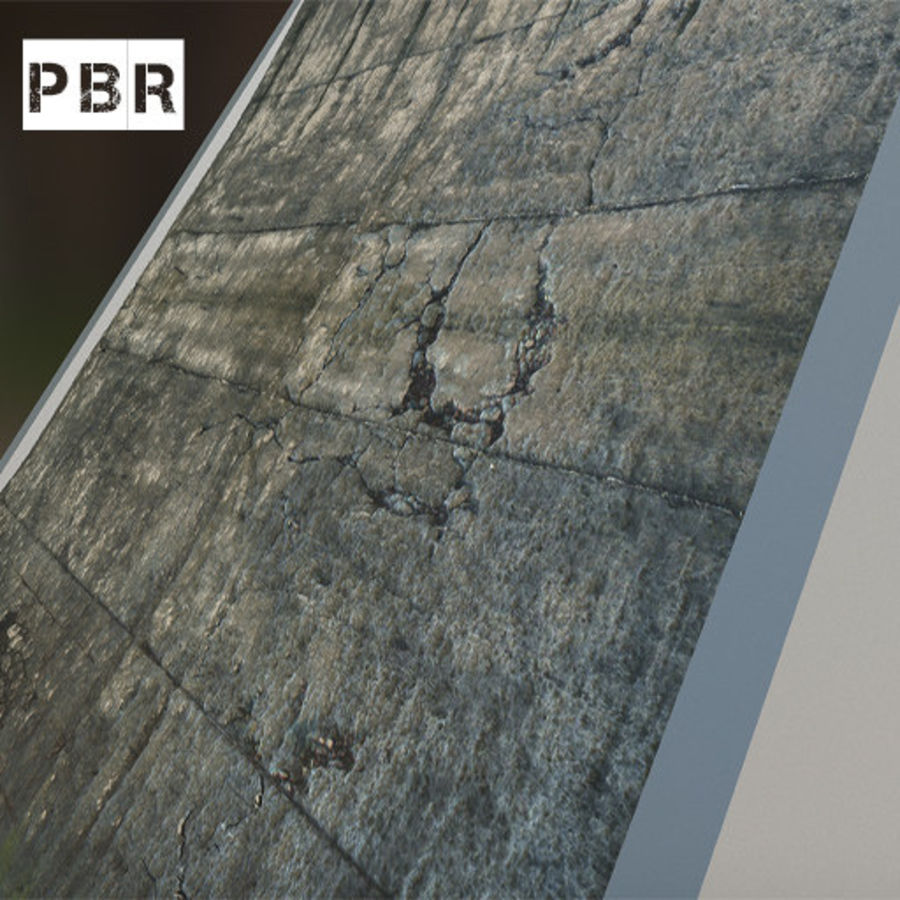 DESTROYED BUILDING ABANDONED POST APOCALYPSE royalty-free 3d model - Preview no. 8