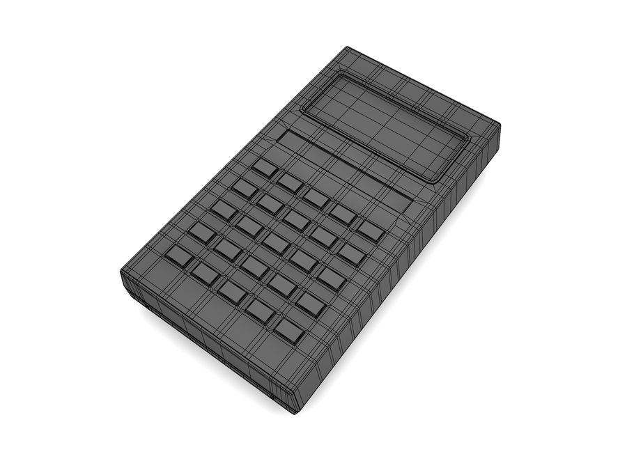 Calculator Electronica B3-26 royalty-free 3d model - Preview no. 11