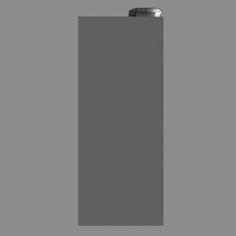 Modello semplice del grattacielo con l'animazione leggera principale scorrevole sulla facciata royalty-free 3d model - Preview no. 14