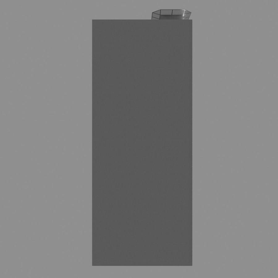 Modello semplice del grattacielo con l'animazione leggera principale scorrevole sulla facciata royalty-free 3d model - Preview no. 13