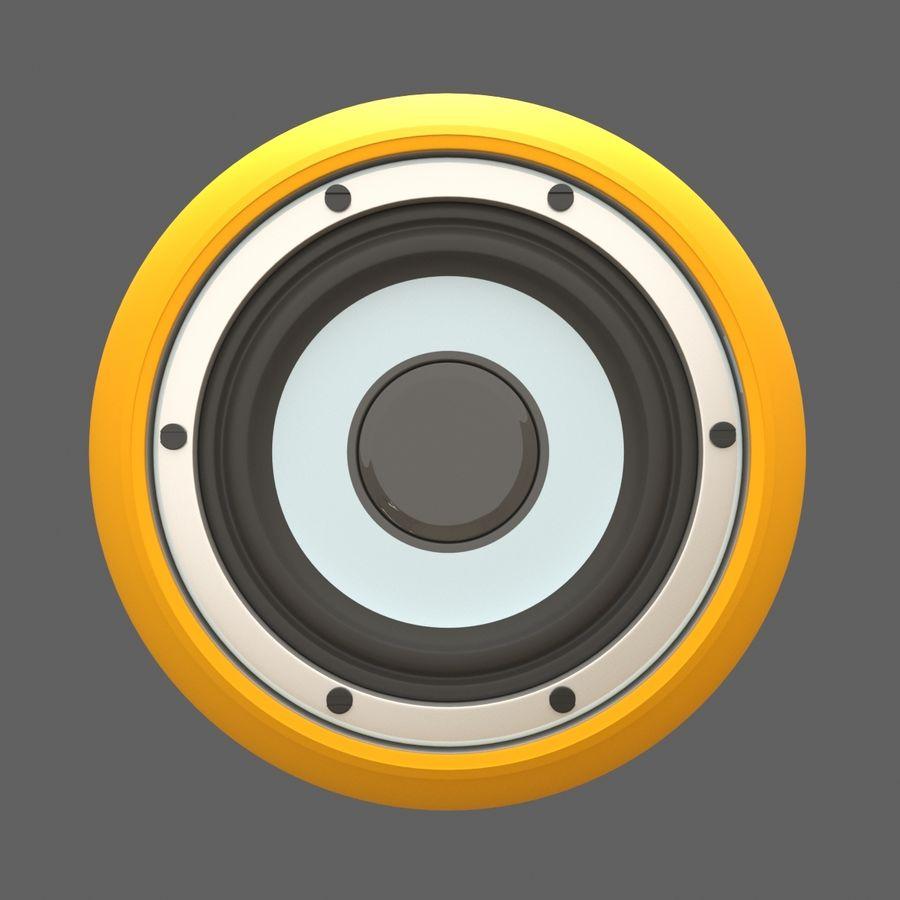 Bluetooth Портативный Динамик royalty-free 3d model - Preview no. 2