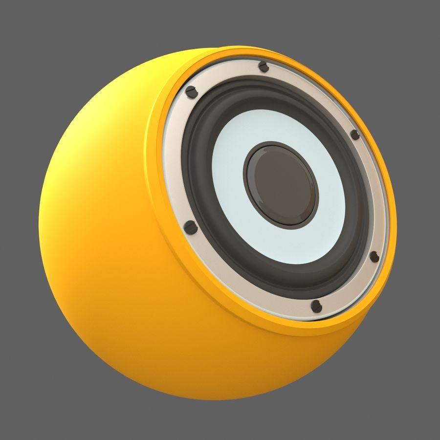 Bluetooth Портативный Динамик royalty-free 3d model - Preview no. 4
