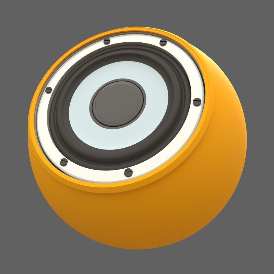 Bluetooth Портативный Динамик royalty-free 3d model - Preview no. 1