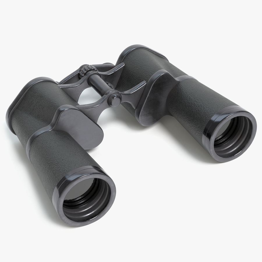 Binoculars royalty-free 3d model - Preview no. 1