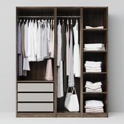 armario modelo 3d