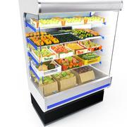 a exibição de frutas 3d model