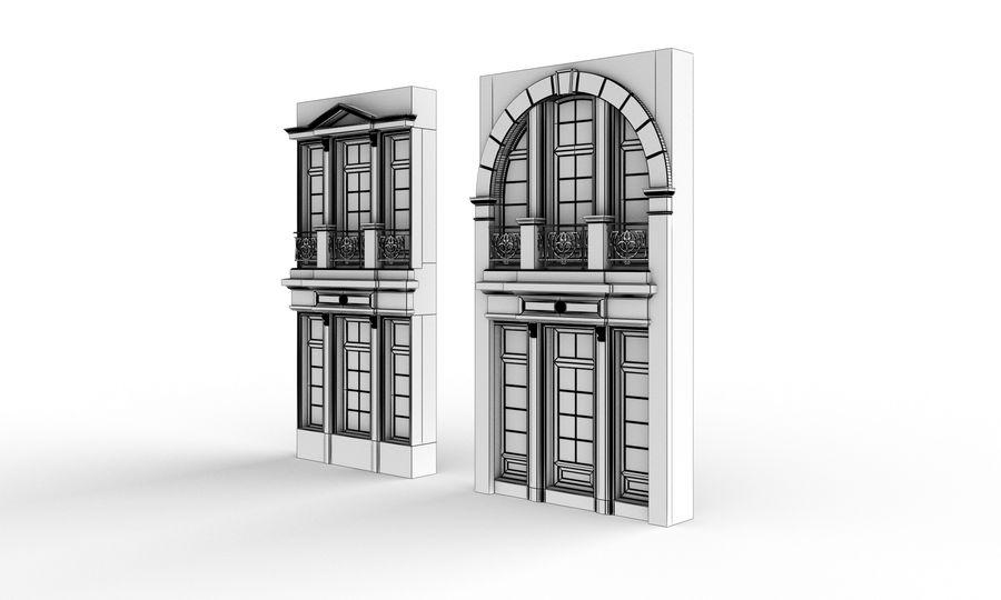Klasyczne okna zewnętrzne royalty-free 3d model - Preview no. 4