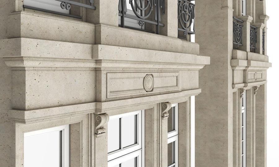 Klasyczne okna zewnętrzne royalty-free 3d model - Preview no. 11