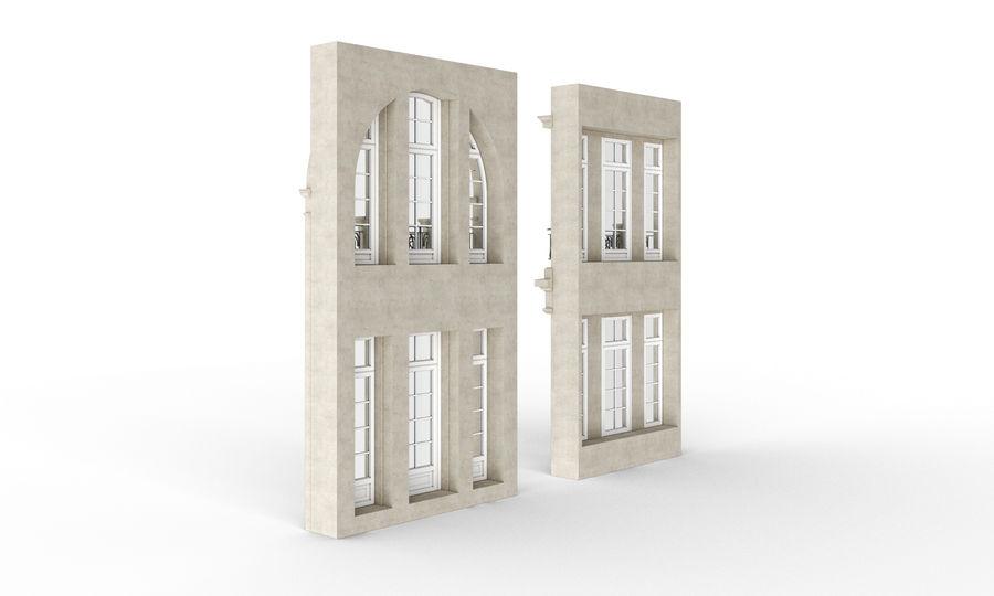 Klasyczne okna zewnętrzne royalty-free 3d model - Preview no. 5