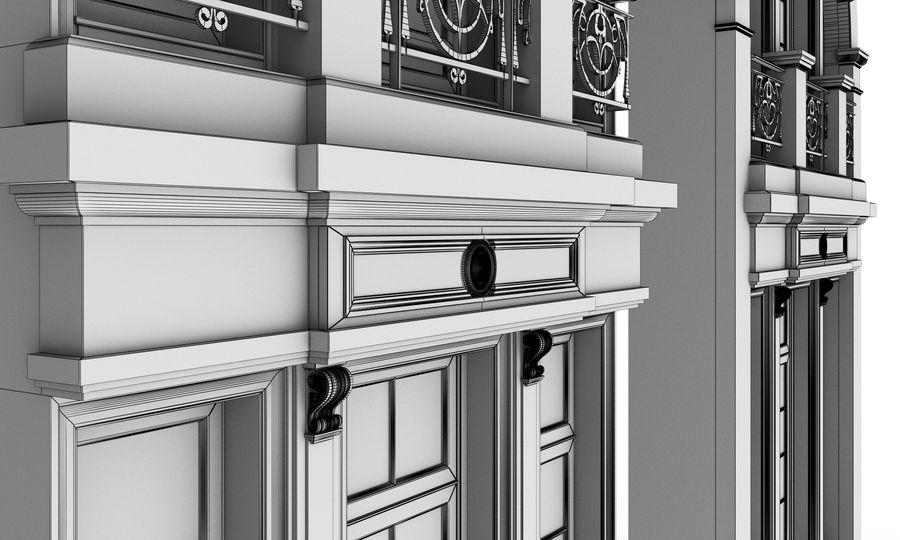 Klasyczne okna zewnętrzne royalty-free 3d model - Preview no. 12
