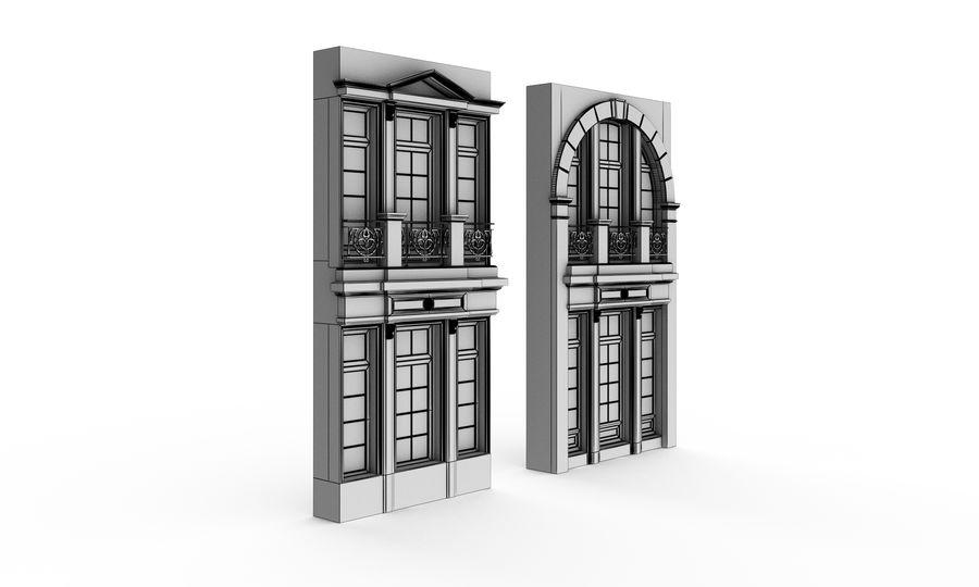 Klasyczne okna zewnętrzne royalty-free 3d model - Preview no. 2
