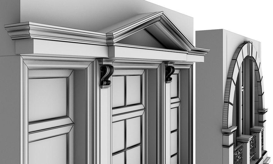 Klasyczne okna zewnętrzne royalty-free 3d model - Preview no. 10