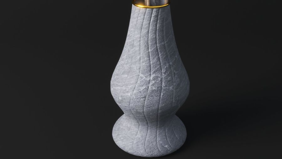 Blossom Vase royalty-free 3d model - Preview no. 4