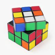 Animacja Kostki Rubika Prędkości 3d model