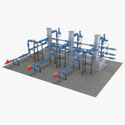 Piping System 1 3d model