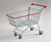 Shopping Supermarket Cart 3d model