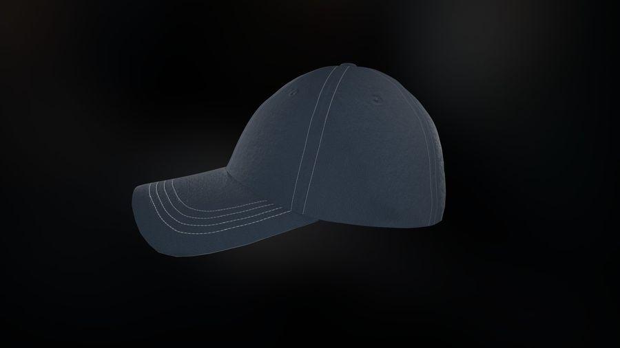 棒球帽 royalty-free 3d model - Preview no. 3