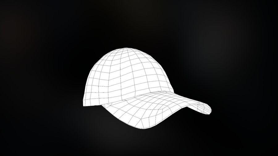 棒球帽 royalty-free 3d model - Preview no. 19