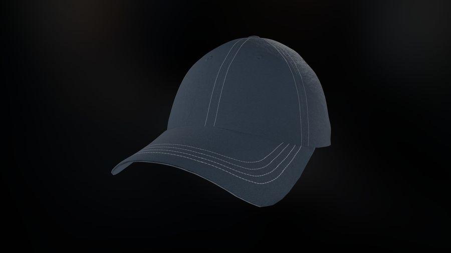棒球帽 royalty-free 3d model - Preview no. 17