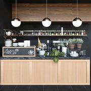 Cafe 40 3d model