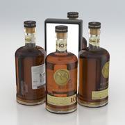 Butelka Alkoholu Bacardi Gran Reserva Diez Extra Rzadki Złoty Rum 700 ml 2020 3d model