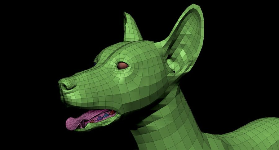 Köpek Tabanı royalty-free 3d model - Preview no. 10