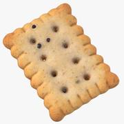 Cracker Rectangular 01 3d model