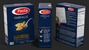 Box Farfalle 3d model