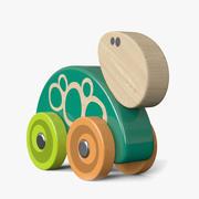カメのおもちゃ 3d model