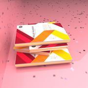 Book pile 3d model