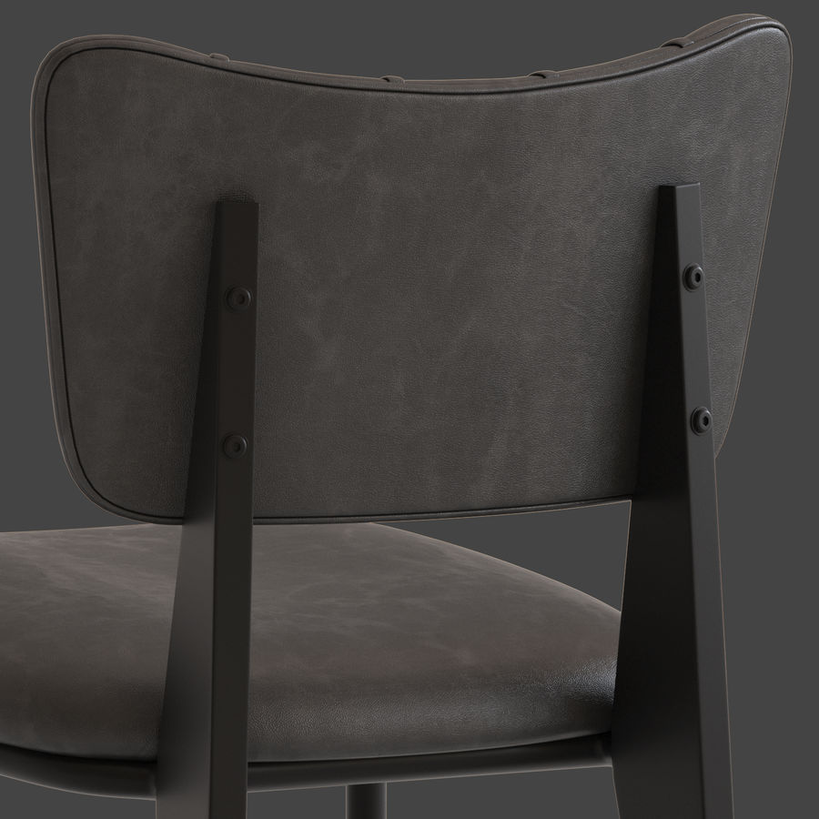 Cult Furniture Ottie Chair royalty-free 3d model - Preview no. 5
