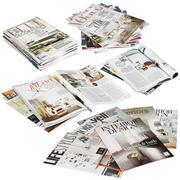 Pile di riviste 3d model