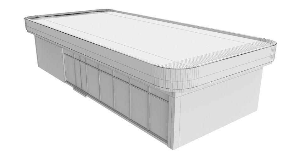Supermercado royalty-free modelo 3d - Preview no. 8