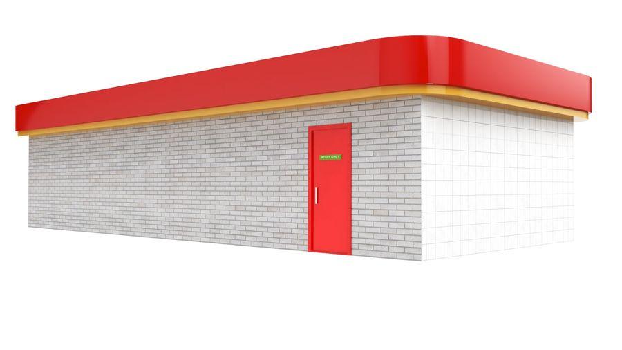 Supermercado royalty-free modelo 3d - Preview no. 5