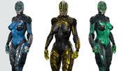 Sci Fi Female 3d model