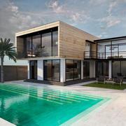 Hus Villa 3d model