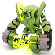 未来派机器人,3D模型 3d model