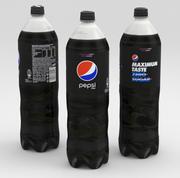 Garrafa de bebida Pepsi Max 1500ml 2020 3d model
