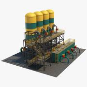 Industriell lagring 1 3d model