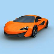 MCLAREN SPORT CAR 3d model