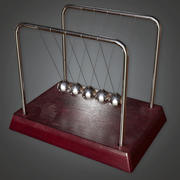 Science Toy Newton - CLA - PBR Game Ready 3d model