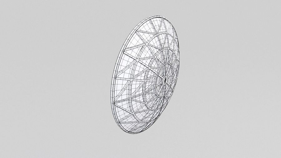 Antenne 2 royalty-free 3d model - Preview no. 8