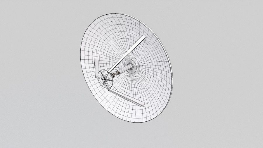 Antenne 2 royalty-free 3d model - Preview no. 9