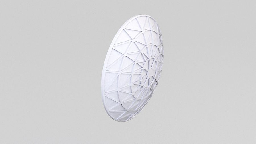 Antenne 2 royalty-free 3d model - Preview no. 5