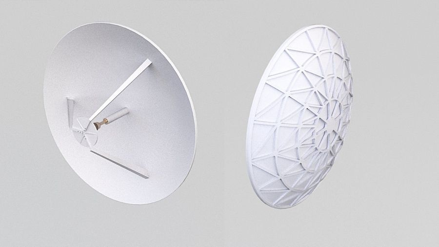 Antenne 2 royalty-free 3d model - Preview no. 1