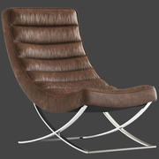 Cult Furniture Denton Lounge Chair 3d model